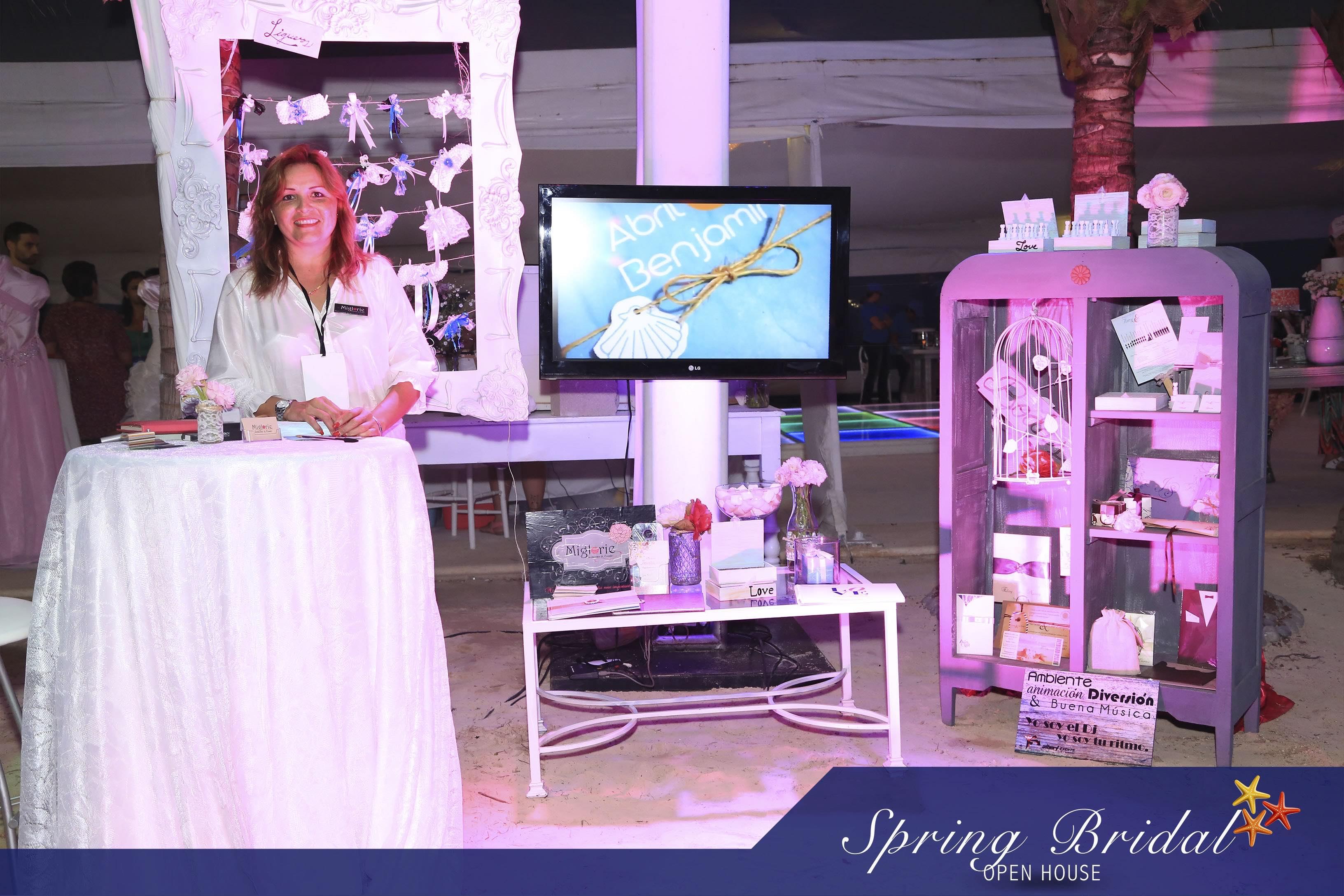 Diversos proveedores estuvieron en el Spring-Bridal-2015