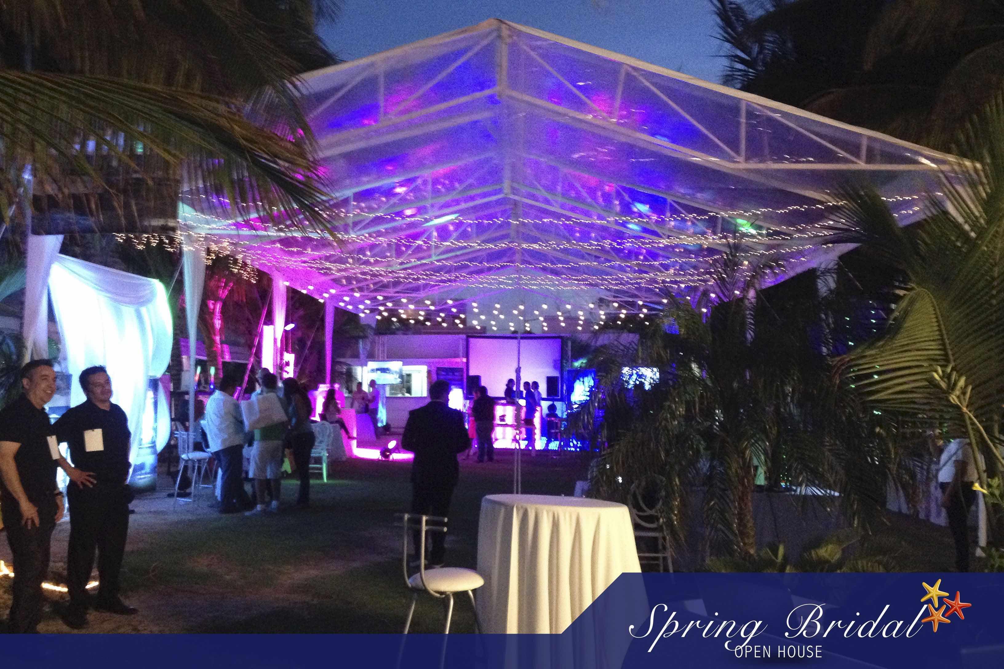 El jardín de Ocean Weddings en el Spring-Bridal-2015