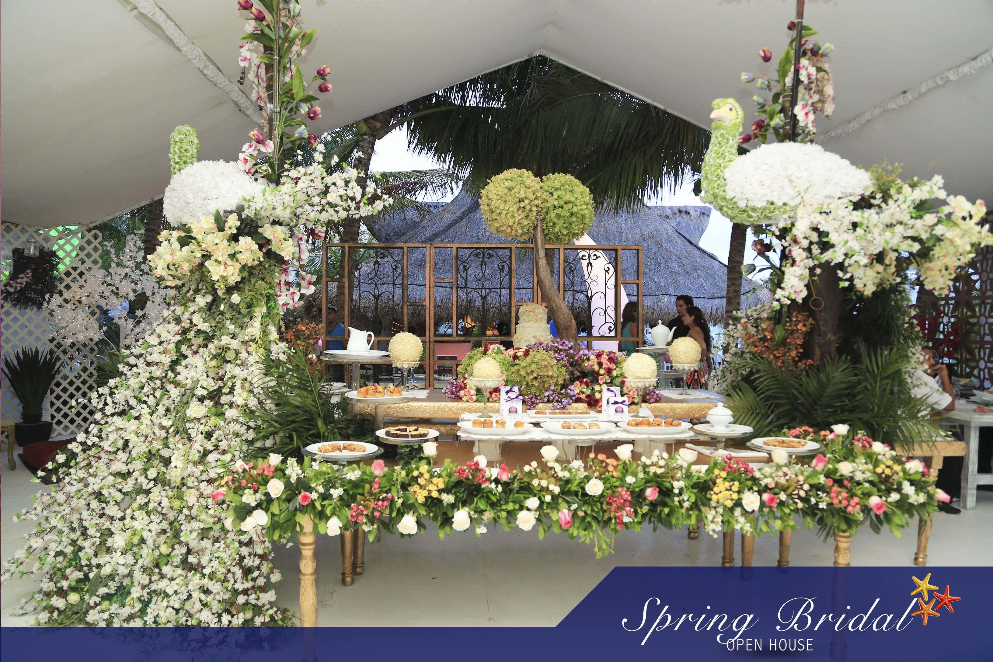 Impresionantes arreglos en el Spring-Bridal-2015