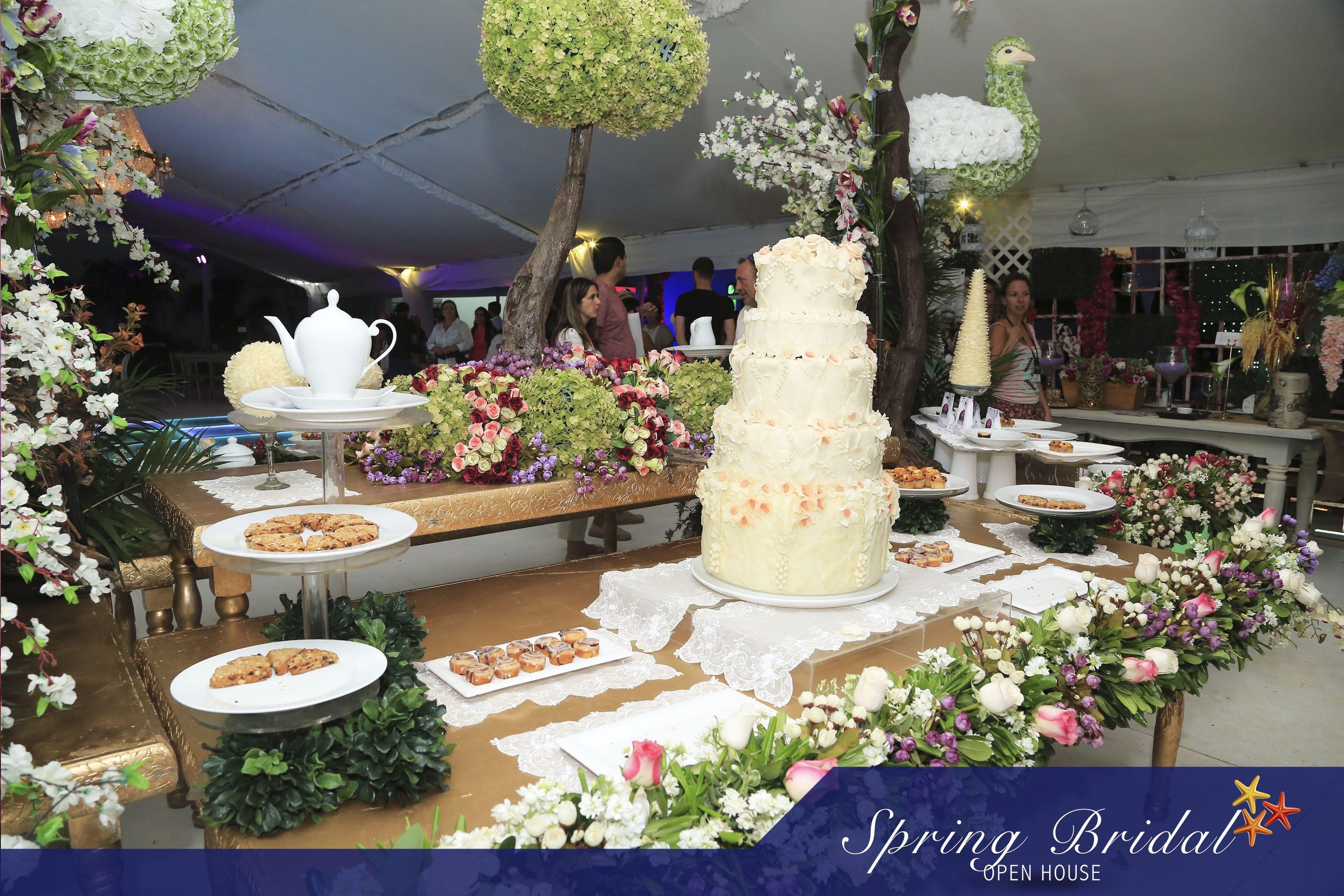 Stand de proveedores presentes en el Spring-Bridal-2015