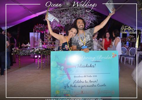 ganadores spring bridal 2016, Sandra y Hector