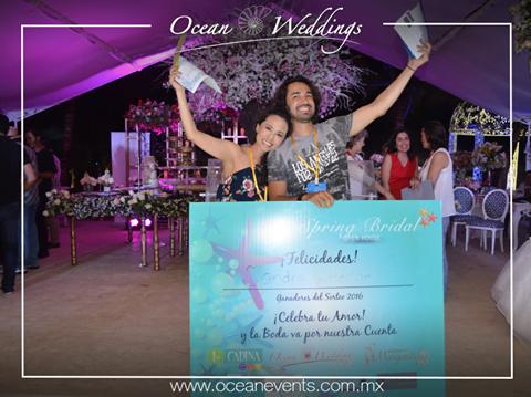 Sandra y Hector Ganadores de la Boda del año en el Spring Bridal 2016