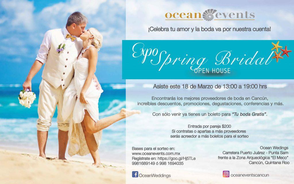 Spring Bridal 2018 Bodas en Cancun